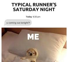 runners sat night